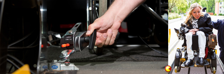 MediCar-Rollstuhl-Fahrgast