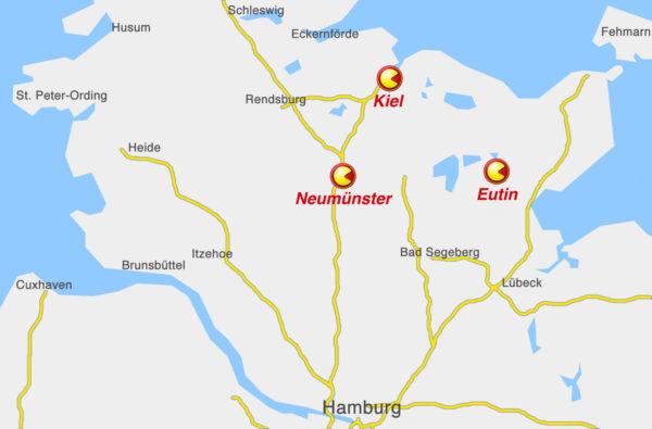 Karte Schleswig-Holstein